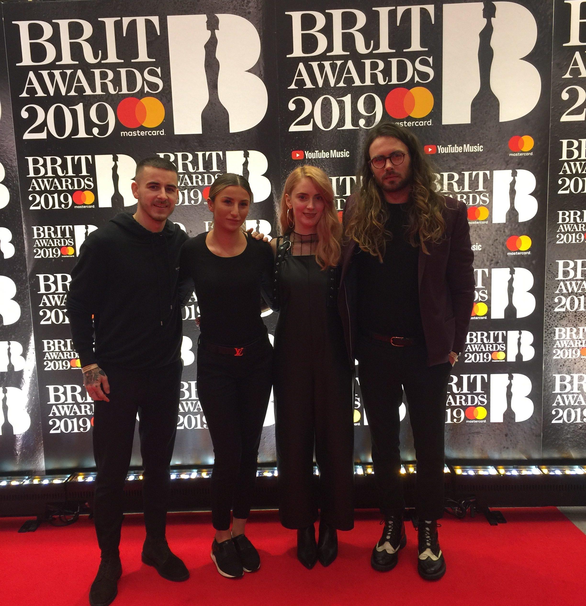 Wella Professionals makes waves at the BRIT Awards