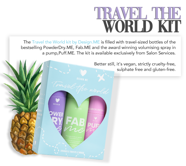Travel the world kit