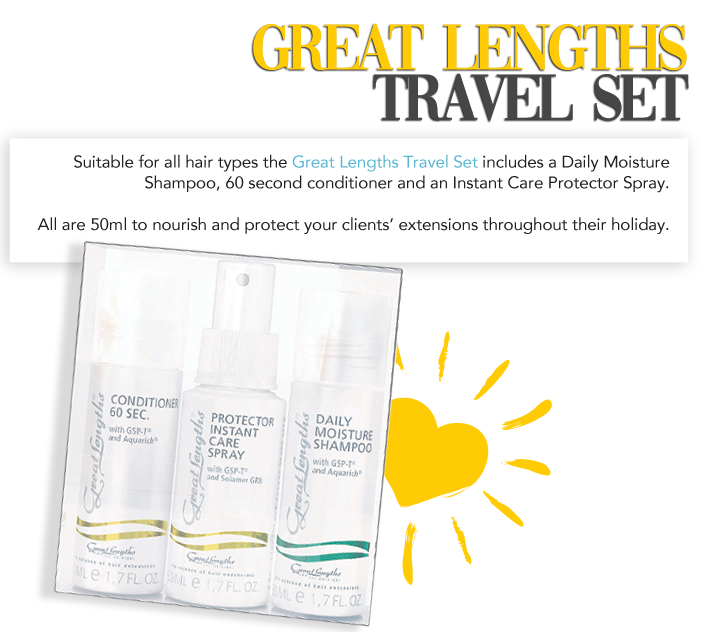 Long hair travel kit