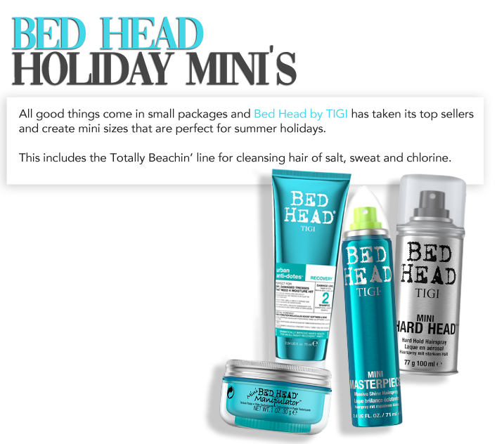 Bed head hair kit holidays