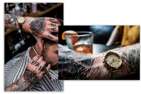 Camden Meets Shoreditch with the Thy Barber watch 4