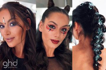 The ultimate Glamoween Hair hacks by ghd 5