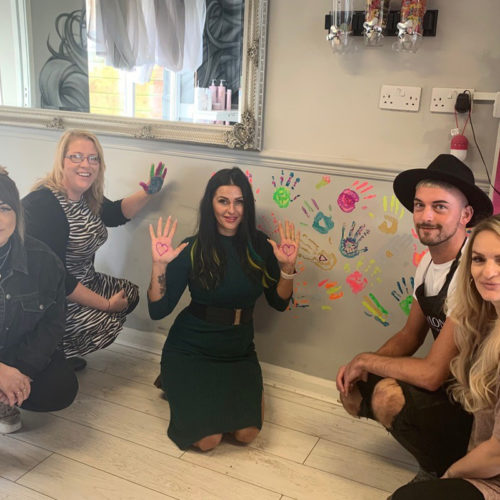 Bcreative, Taunton, lends a sweet helping hand to the  Hair & Beauty Charity