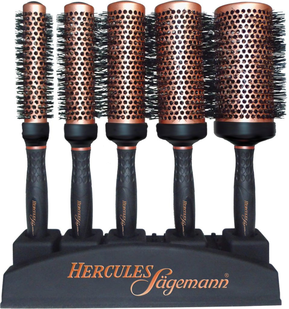 Copper Collection Round Brushes 2