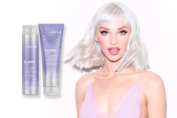 Joico | A new ultra-violet duo to help blondes keep their cool.