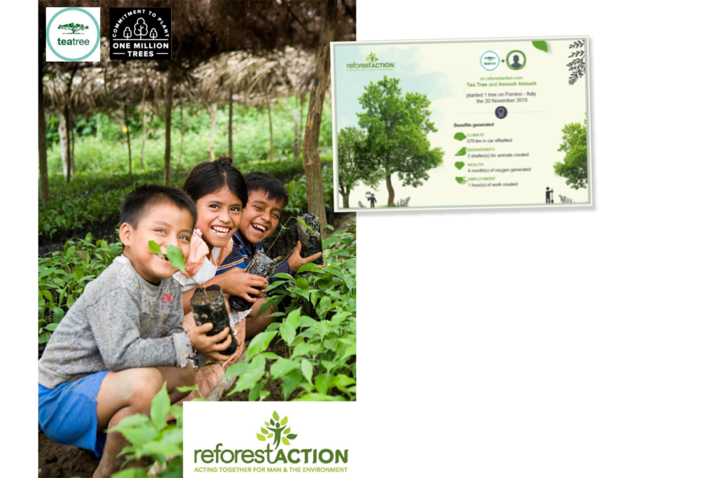 Reforest'Action and John Paul Mitchell Systems in planting partnership 1