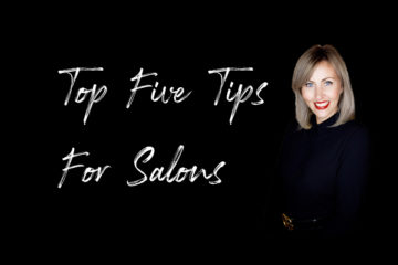Jo Robertson's Top Five Tips For Salons