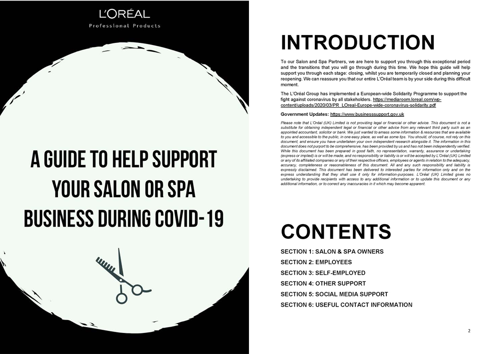 Salon support from L'Oréal Professionnel 1