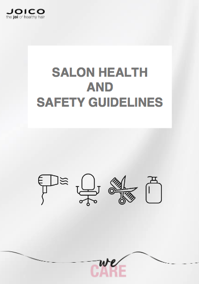 JOICO Europe Unveil Salon Health and Safety Guide