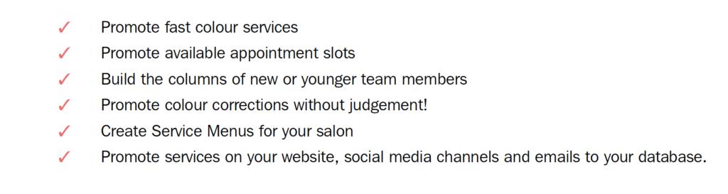 Simon's action checklist for when salons re-open 4