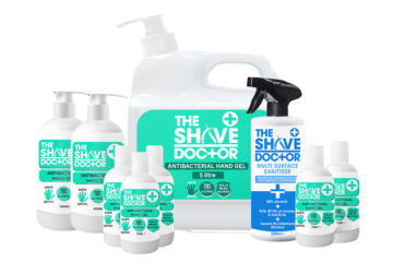 Prepare to re-open with ShaveDoctor PPE 1