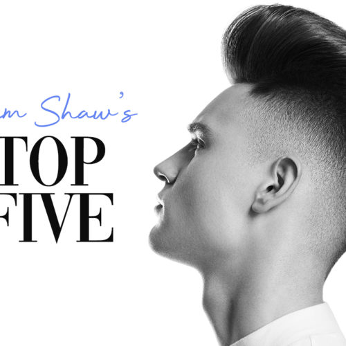 Jim Shaw | TOP FIVE Men's Hair Trend Predictions for Autumn/Winter