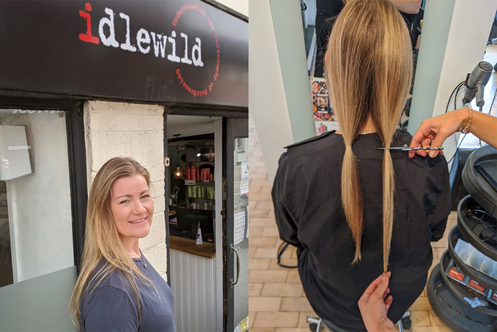 Opera Singer Donates her locks to Little Princess Trust