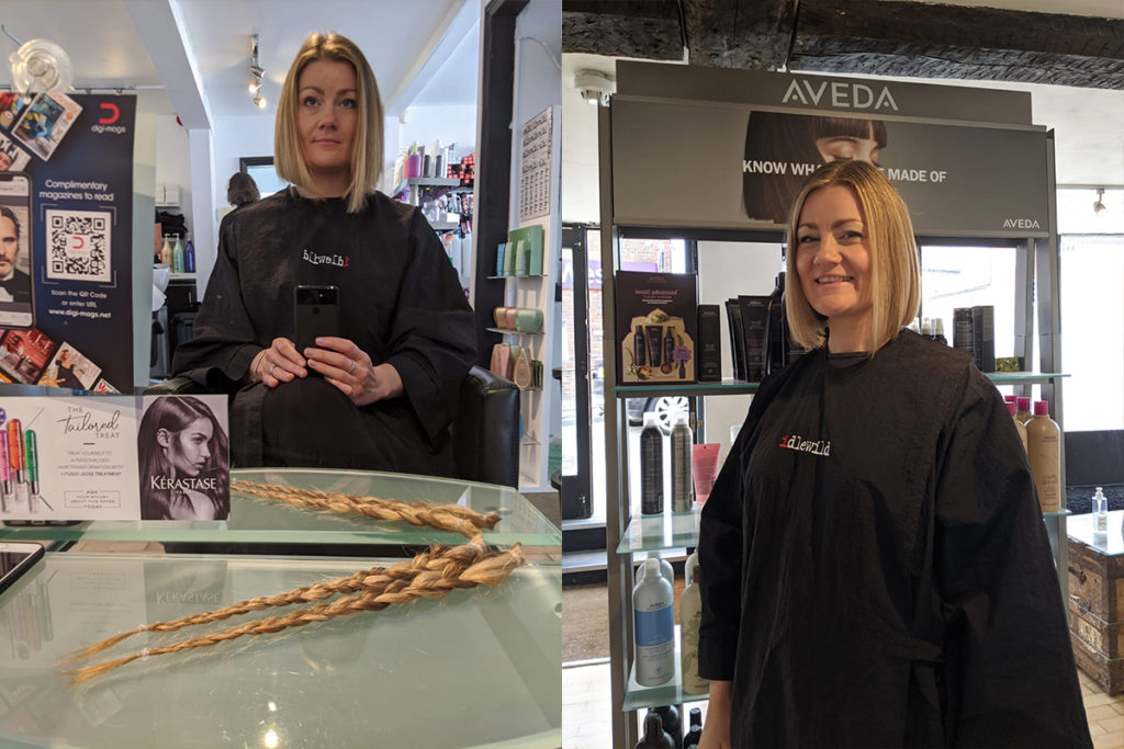 Opera Singer Donates her locks to Little Princess Trust 1