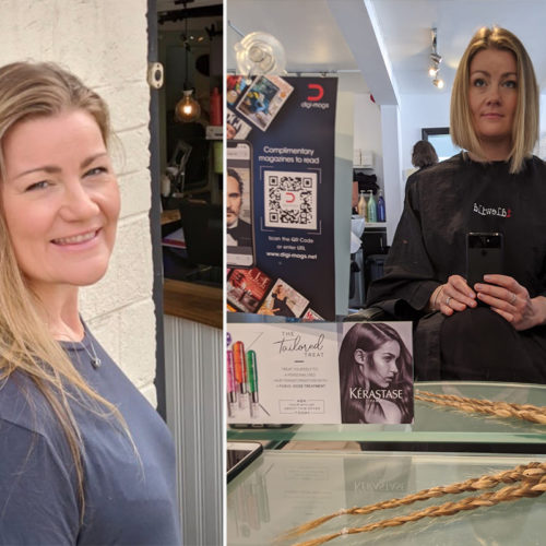 Opera Singer Donates her locks to Little Princess Trust 2