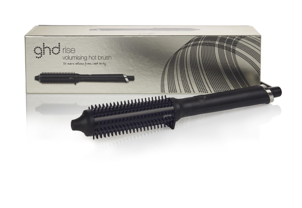Introducing rise, ghd's first 3D volume smart hot brush 1