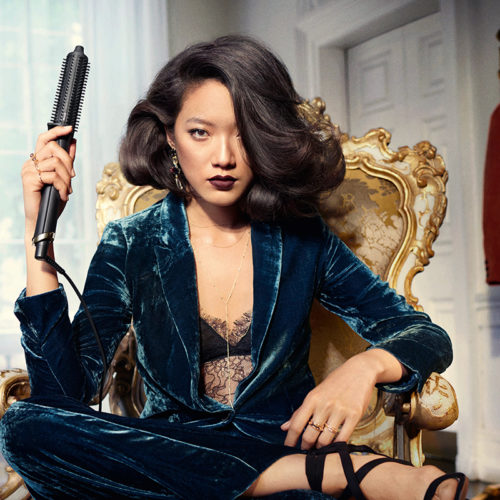 Introducing rise, ghd's first 3D volume smart hot brush