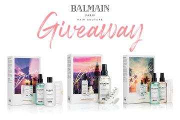 WIN | Balmain Paris Limited Edition Luminous Blonde Set