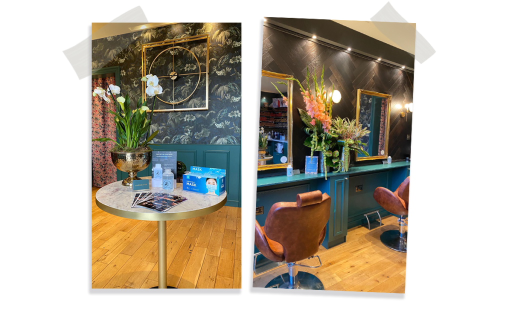 Mark McCarthy, owner of MARKDAVID salon talks about the design inspiration of his stunning salon 3