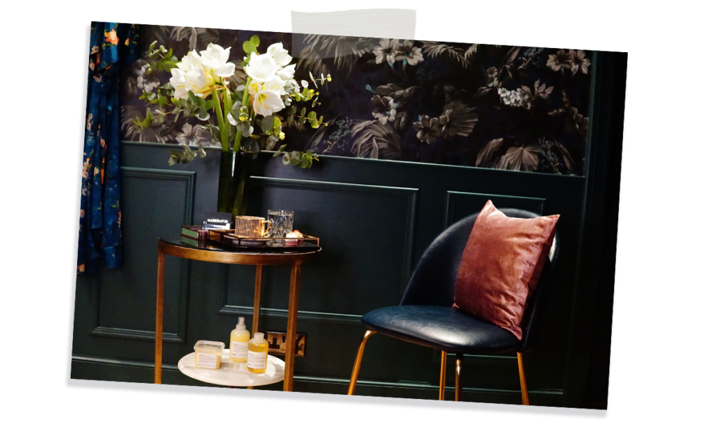 Mark McCarthy, owner of MARKDAVID salon talks about the design inspiration of his stunning salon 7