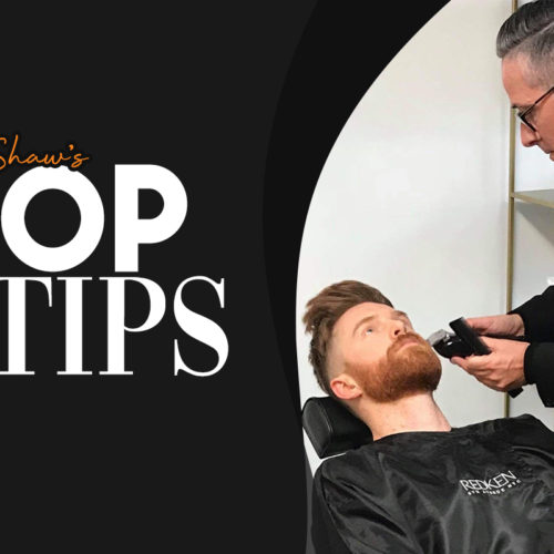Top grooming tips for your male clients suffering from maskne | Jim Shaw