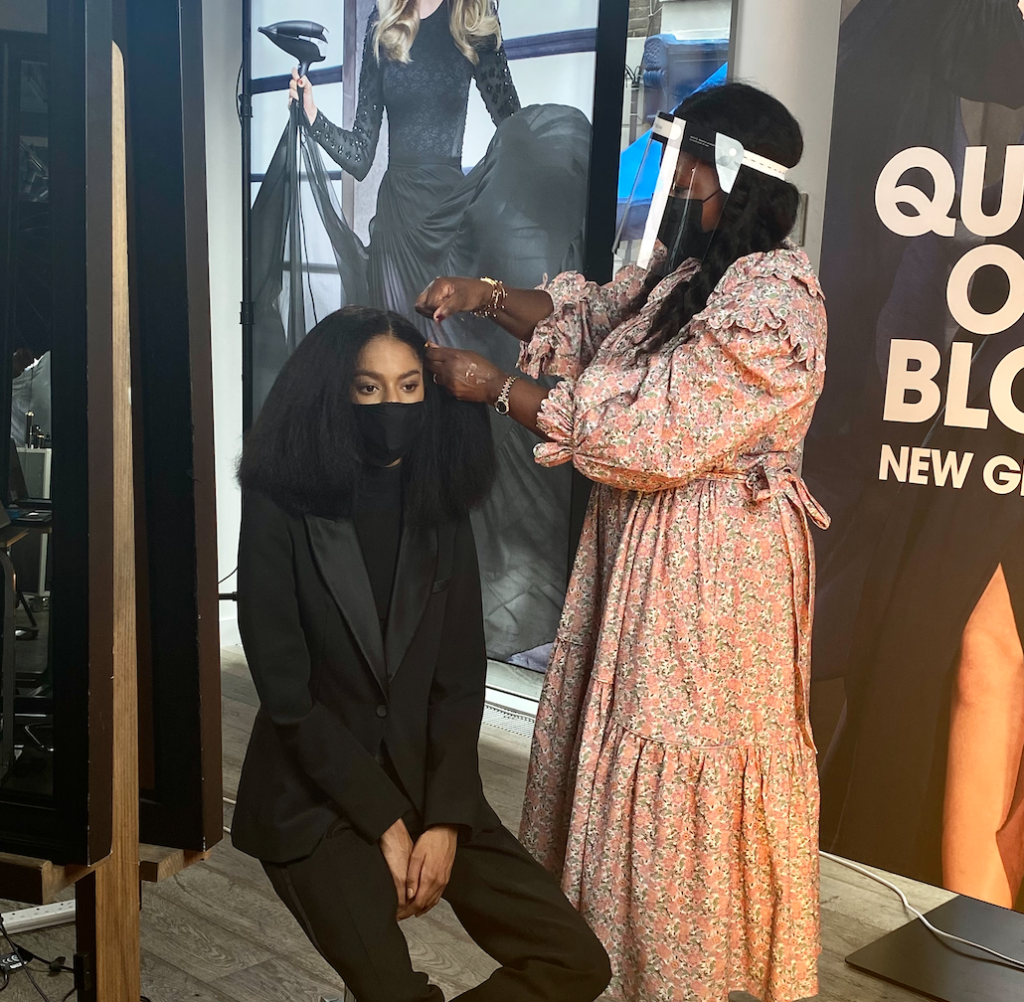 An evening with ghd and Charlotte Mensah 4