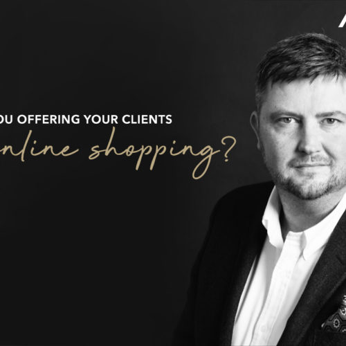 Are you offering your clients online shopping?