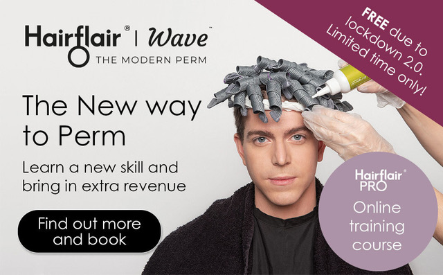 FREE Online perm education during lockdown from curl experts HairFlair 1