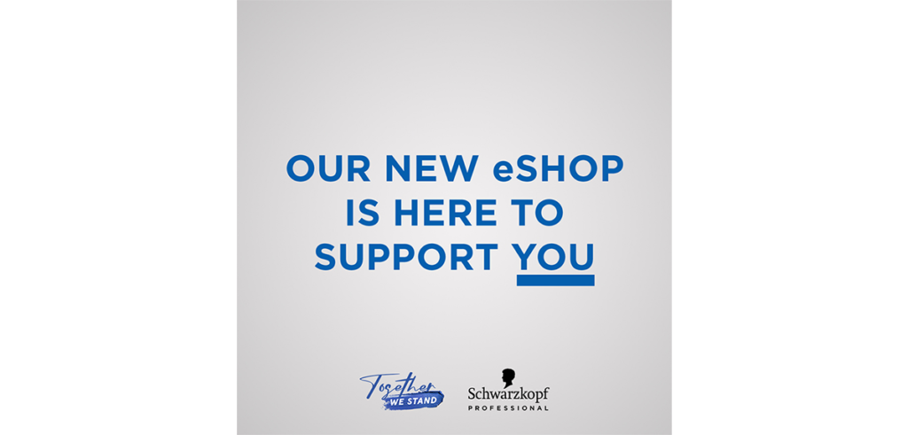 Schwarzkopf Professional launch their new EShop 2