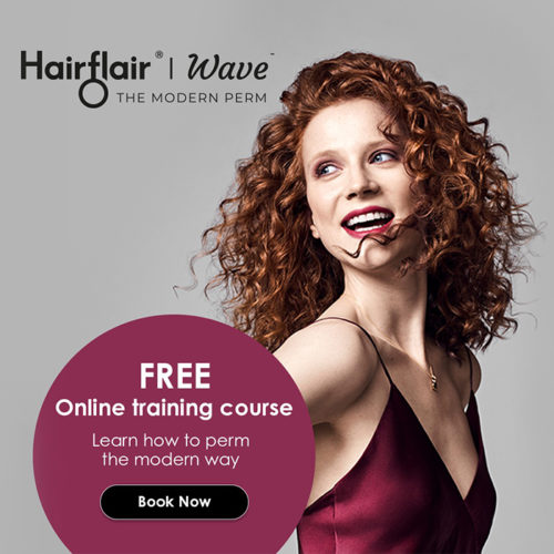 Curl experts HairFlair announce FREE online perm education for lockdown