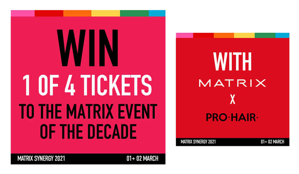 WIN a ticket to MATRIX SYNERGY 2021