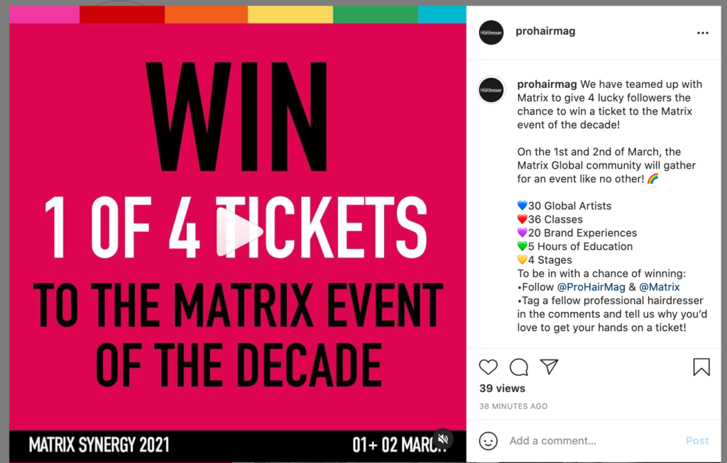 WIN a ticket to MATRIX SYNERGY 2021 2