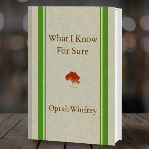 Book Club | What I know for Sure by Oprah Winfrey Chosen by Adam Reed