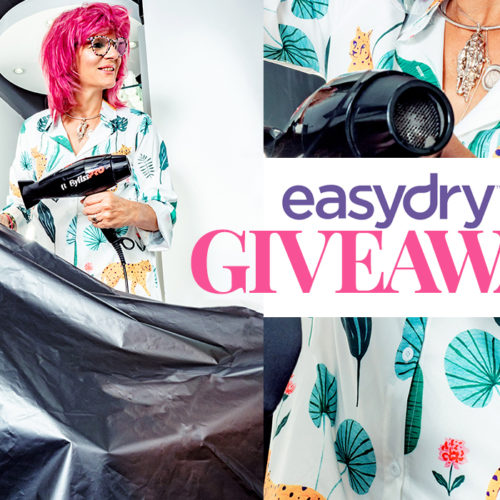 WIN 30 Easydry gowns for your salon!