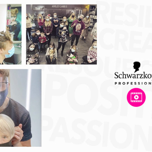 Celebrating the Hairdressing Industry with Schwarzkopf Professional