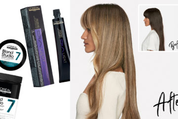 French Balayage three ways with L'Oréal Professionel 2