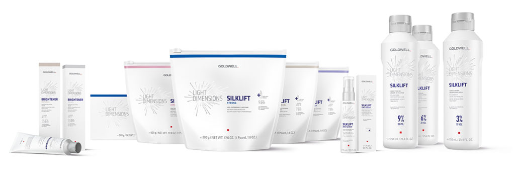 Enter a new dimension of lightening with Goldwell's latest launch