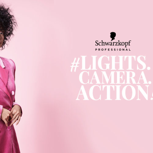 Bring your ideas to life with Schwarzkopf Professional's #LIGHTS.CAMERA.ACTION!